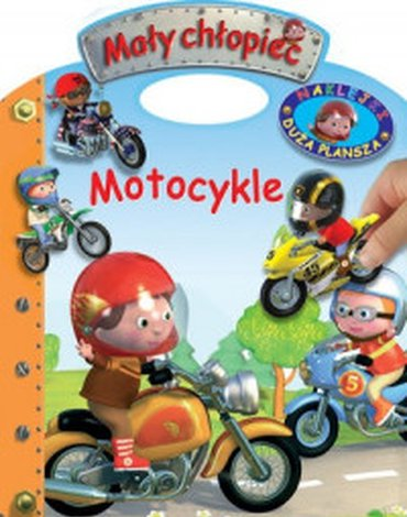 Olesiejuk Sp. z o.o. - Mały chłopiec. Motocykle