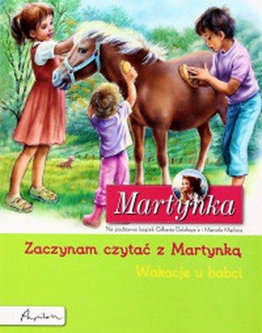 Papilon - Zaczynam czytać z Martynką. Wakacje u babci