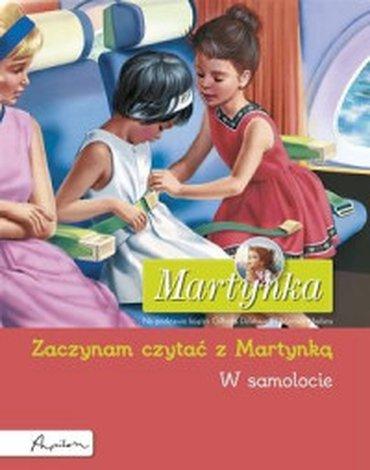 Papilon - Martynka. W samolocie. Zaczynam czytać z Martynką