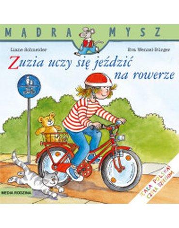 Media Rodzina - Mądra Mysz. Zuzia uczy się jeździć na rowerze