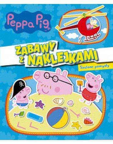 Media Service Zawada - Świnka Peppa. Zabawy z naklejkami. Szalone pomysły