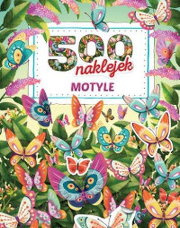 Zielona Sowa - 500 naklejek. Motyle