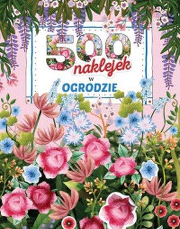 Zielona Sowa - 500 naklejek. W ogrodzie