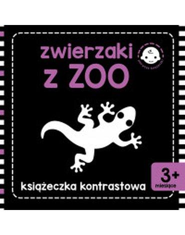 Skrzat - Książeczka kontrastowa. Zwierzaki z zoo