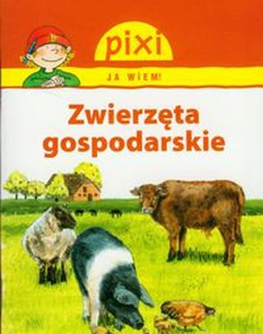 Media Rodzina - Pixi Ja wiem Zwierzęta gospodarskie