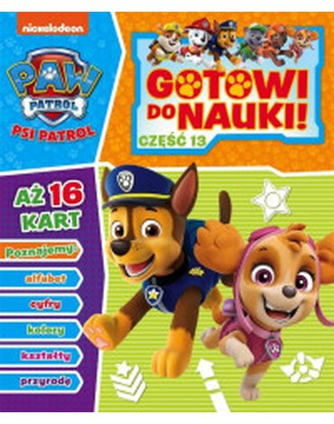 Media Service Zawada - Psi Patrol. Gotowi do nauki, część 13