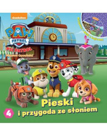 Media Service Zawada - Psi Patrol. Część 4. Pieski i przygoda ze słoniami + DVD