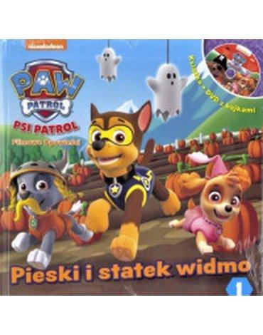 Media Service Zawada - Psi Patrol. Tom 1. Pieski i statek widmo + DVD