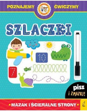 Wilga / GW Foksal - Książka z pisakiem. Szlaczki