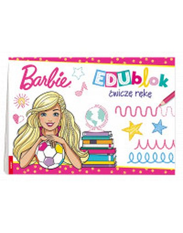 Ameet - Barbie. EDUblok ćwiczę rękę