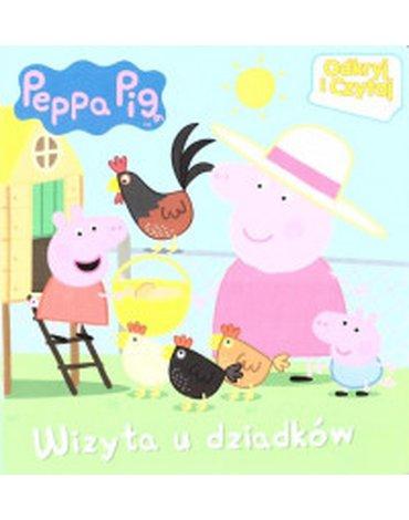 Media Service Zawada - Peppa Pig. Odkryj i Czytaj. Wizyta u dziadków
