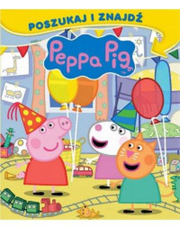 Media Service Zawada - Świnka Peppa. Poszukaj i zanajdź