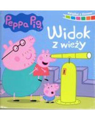 Media Service Zawada - Peppa Pig. Ksiazka z filmem. Widok z wieży