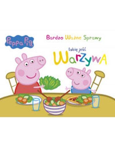 Media Service Zawada - Peppa Pig. Bardzo Ważne Sprawy. Lubię jeść warzywa