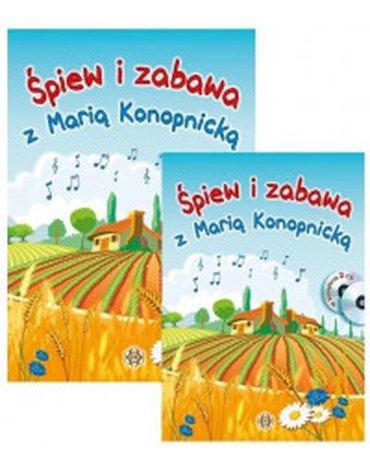 Harmonia - Śpiew i zabawa z Marią Konopnicką + 2 CD