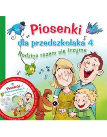 Skrzat - Piosenki dla przedszkolaka 4. Rodzina razem się trzyma + CD