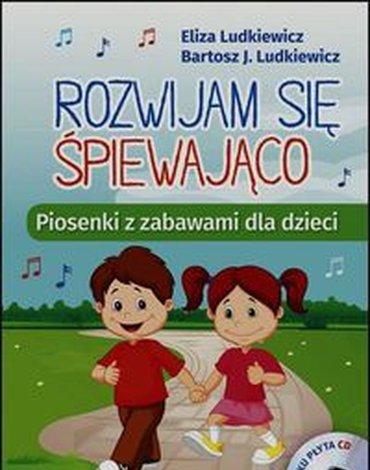 Harmonia - Rozwijam się śpiewająco. Piosenki z zabawami dla dzieci + CD