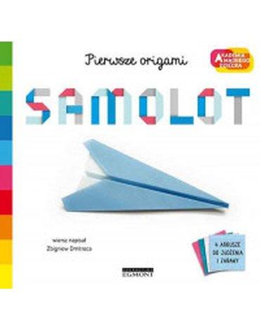 Egmont - Samolot. Akademia mądrego dziecka. Pierwsze origami
