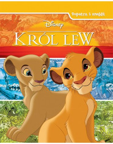 Olesiejuk Sp. z o.o. - Disney Król Lew. Popatrz i znajdź