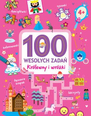 Olesiejuk Sp. z o.o. - 100 wesołych zadań. Królewny i wróżki