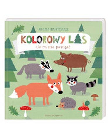 Nasza Księgarnia - Kolorowy las. Co tu nie pasuje?