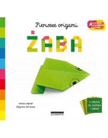 Egmont - Żaba. Akademia mądrego dziecka. Pierwsze origami