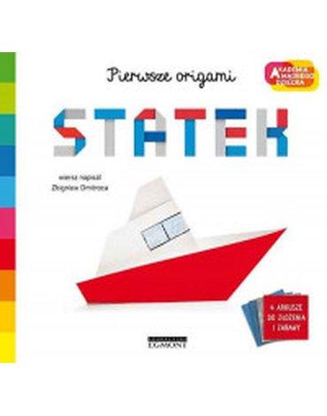 Egmont - Statek. Akademia mądrego dziecka. Pierwsze origami