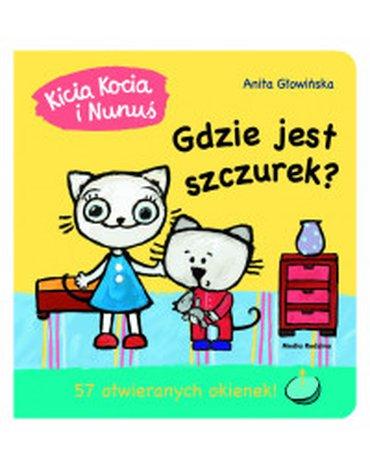 Media Rodzina - Kicia Kocia i Nunuś. Gdzie jest Szczurek? 57 otwieranych okienek