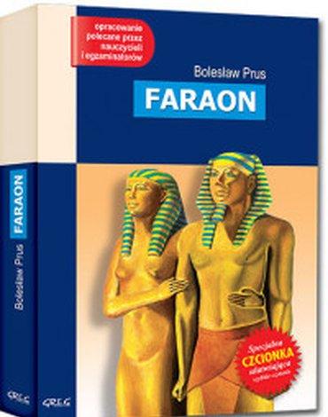 Greg - Faraon (wydanie z opracowaniem i streszczeniem)