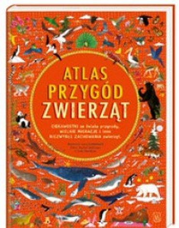 Nasza Księgarnia - Atlas przygód zwierząt