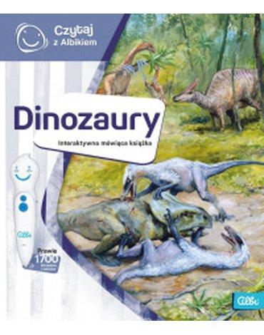 Albi - Czytaj z Albikiem. Dinozaury. Interaktywna mówiąca książka