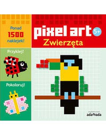 Adamada - Pixel art. Zwierzęta