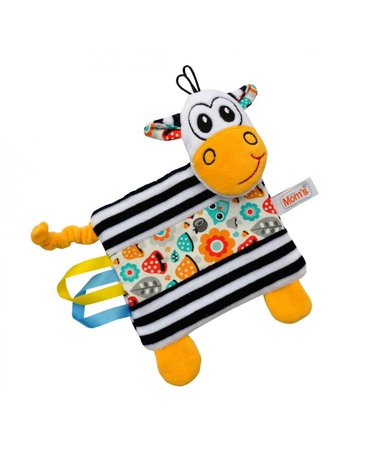 Mom'sCare - Pluszowa przytulanka Zebra z metkami