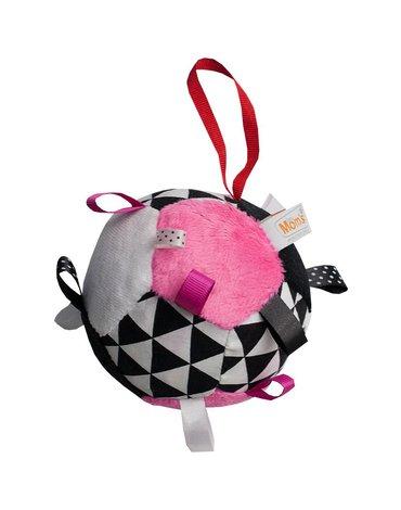 Mom'sCare - Pluszowa piłeczka dla dziewczynki
