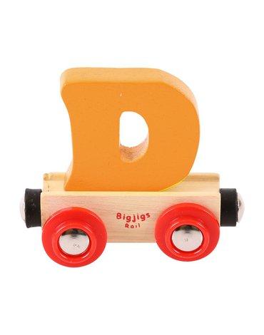 BigjigsRail - Wagonik literka D