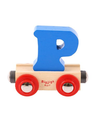BigjigsRail - Wagonik literka P