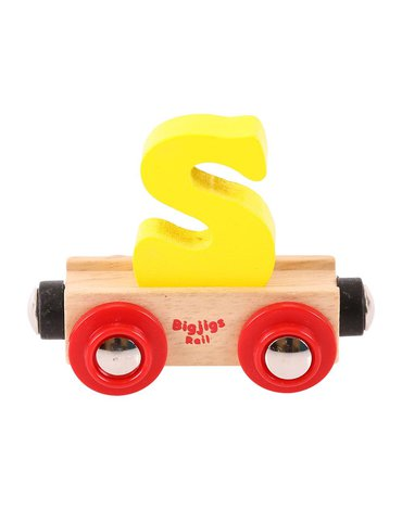 BigjigsRail - Wagonik literka S