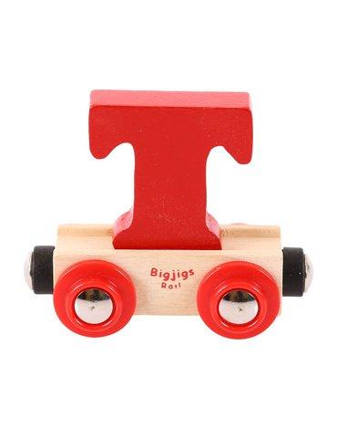BigjigsRail - Wagonik literka T