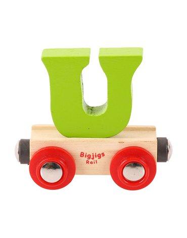 BigjigsRail - Wagonik literka U