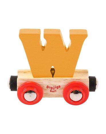 BigjigsRail - Wagonik literka W