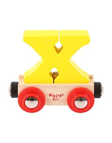 BigjigsRail - Wagonik literka X