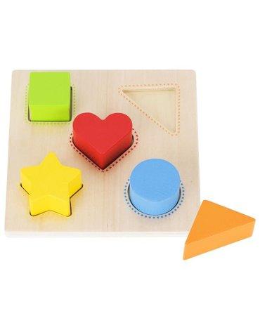 Goki® - Goki mała układanka kształty i kolory