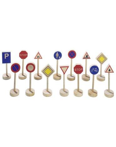GOKI - drewniane znaki edukacyjne