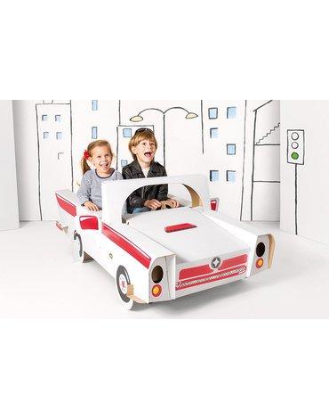 Tektorado - Samochód duży kartonowy z naklejkami