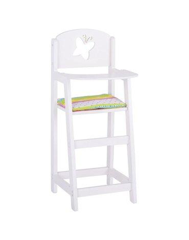 Susibelle - Drewniane krzesło dla lalek wysokie