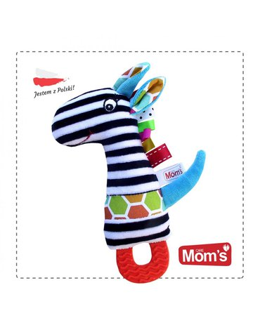 Mom'sCare - Piszczek Tymek z gryzakiem