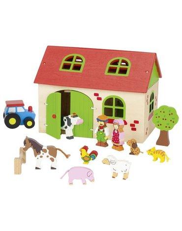 Goki® - Moja farma do układania - zabawka Goki