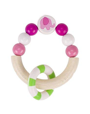 Heimess - Pierścień dotykowy różowy Słonik