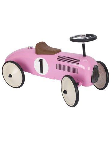 Goki® - Jeździk różowa wyścigówka