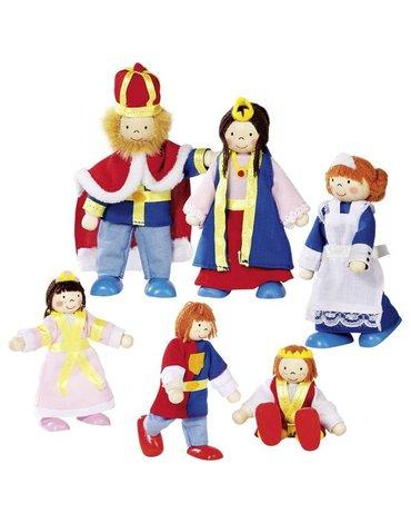 Goki - Lalki do domku rodzina królewska